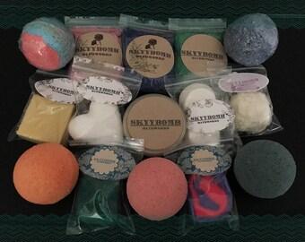 Surprise Box| Random Assortment | Homemade | Mystery Box | Bath Products | Mystery | Surprise | Bath Bomb | Scrubs | Melts | Crystals | Kids