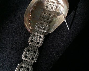 Gorgeous Handmade Mompox Sterling Silver Bracelet Made in Colombia