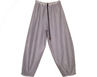 Samurai 100% wool pants / organic denim jean