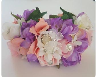 Halo flower crowns