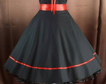 Rockabilly 50's prom dress