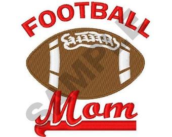 Football Mom - Machine Embroidery Design
