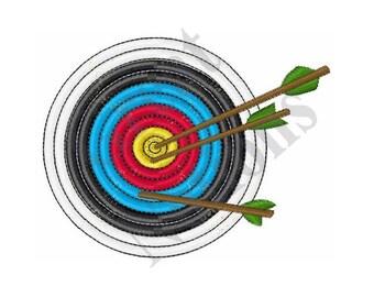 Archery Target - Machine Embroidery Design