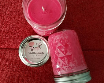 Cranberry Marmalade - Schettler Scents Soy Candle, Scented Candle, 8oz mason jar candle