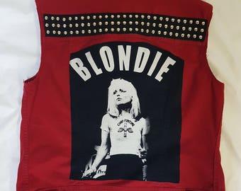 WOMENS Blondie rock vest-SIZE: Medium