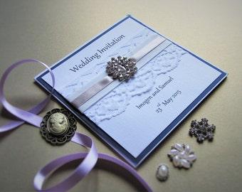 Pocketfold Wedding Invitation Katie - SAMPLE