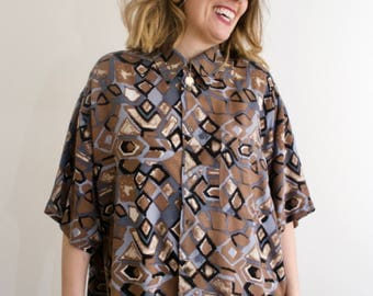 Vintage Abstract 80's Shirt