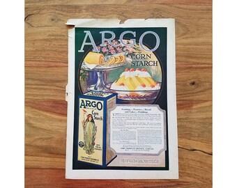 Vintage Corn Starch Ad