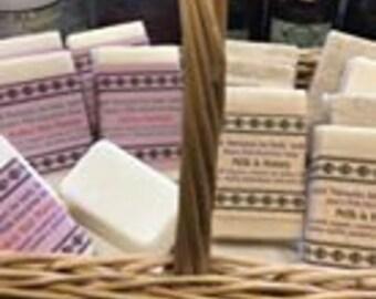 Goat's Milk Glycerin Soap - 5.5 oz Milk & Honey