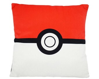Square Plush Pokemon Handmade Pokeball Pillow