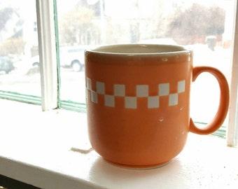 Vintage Orange Otagiri Coffee Mug