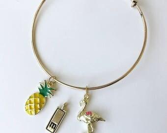 Tropical Charm Bracelets