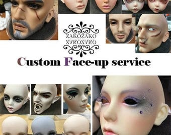 Custom Face-up service