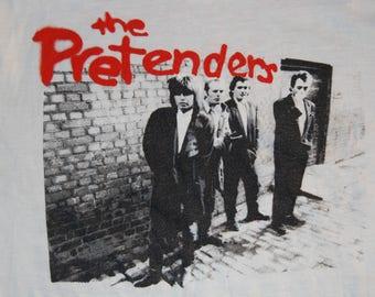 The Pretenders Rare Vintage 1984 Long Sleeve Tour Shirt