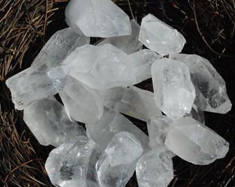 Large Clear Quartz Point/Healing Stone/Crystal/Reiki/Shamanic