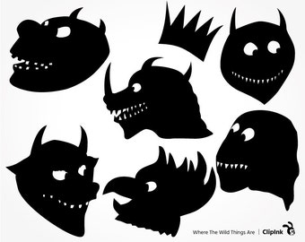 Where the wild things are svg – Etsy