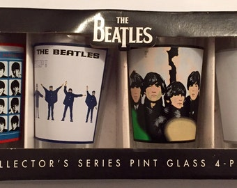 Beatles Collector Pint Glasses