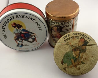 Vintage Tins The Saturday Evening Post