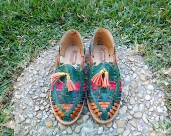 Women's Handmade Leather Huaraches