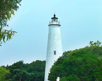 Ocracoke Lighthouse Outerbanks North Carolina - Canvas Gallery Wrap