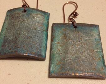 Painted earrings