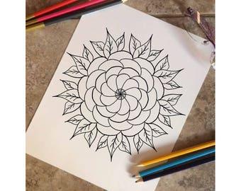 Mandala Flower