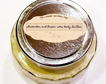 Lavender and Green Tea Body Butter