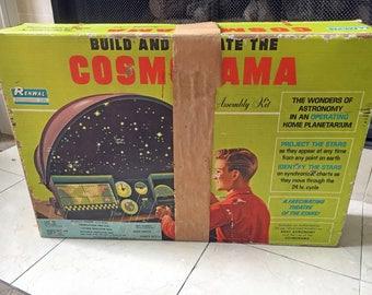 1963 Vintage Cosmorama Planetarium Model Kit