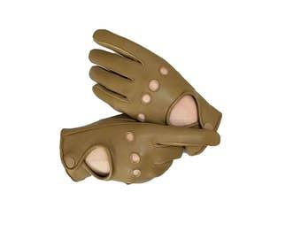 Women's Driving Leather Gloves - Sheepskin Gloves for driving