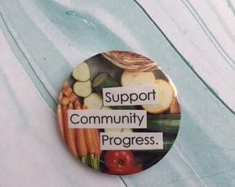 Support Community Progress Button