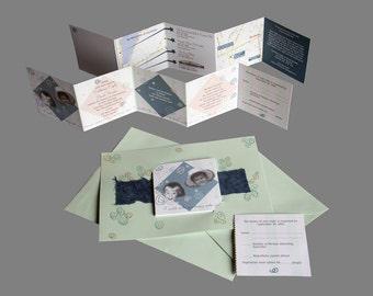 Custom Wedding Invitations Unique Stunning Personal
