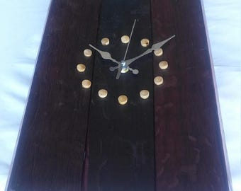 Wood Stave Clock