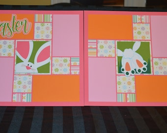 Easter scrapbook page kit