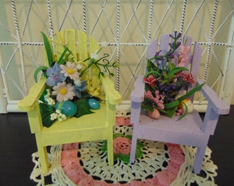 Easter Adirondack Chairs