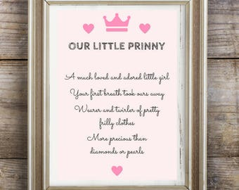 Our Little Prinny Print