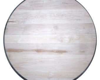 Solid wood Maple round table top restaurant table top FREE SHIPPING to USA and Canada