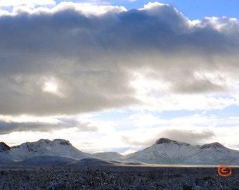 Perilla Mountains With Snow