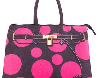 Dot bag in pink