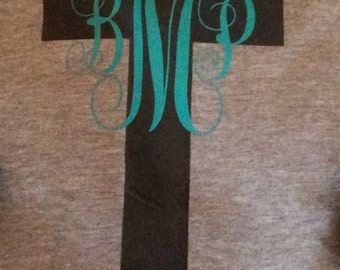 Monogram Cross