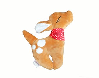 Stuffed Animal, Cuddly Toy, Fawn, Baby Toy, Bambi