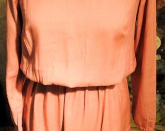 dress pink vintage
