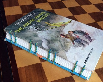 The Hardy Boys: The Arctic Patrol Mystery - Hard Cover Art Journal