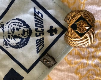 Cub Scout Lot 2 Pins and 1 Scarf