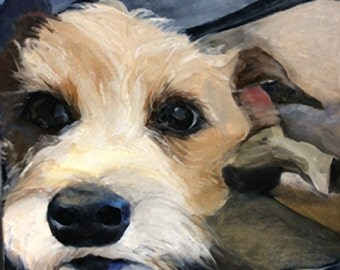 Custom Dog Portrait - Custom Pet Portrait