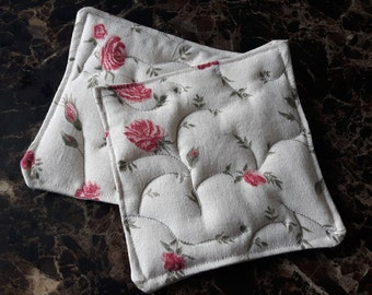 Set of 2 Quilted Coasters