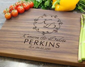 Personalized Cutting Board - Engraved Cutting Board, Custom Cutting Board, Wedding Gift, Housewarming Gift, Anniversary Gift, Engagement #29