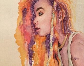 Eos-Watercolor