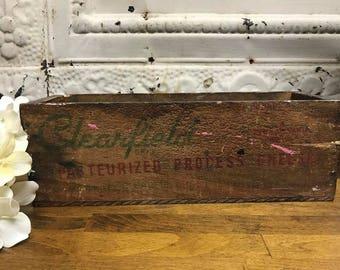 Antique Cheese Box