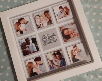 "Personalised ""Family is Forever"" Frame"