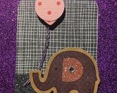 Elephant Gift Tag